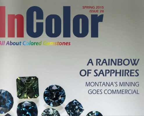 InColor Magazine - A Rainbow of Sapphires