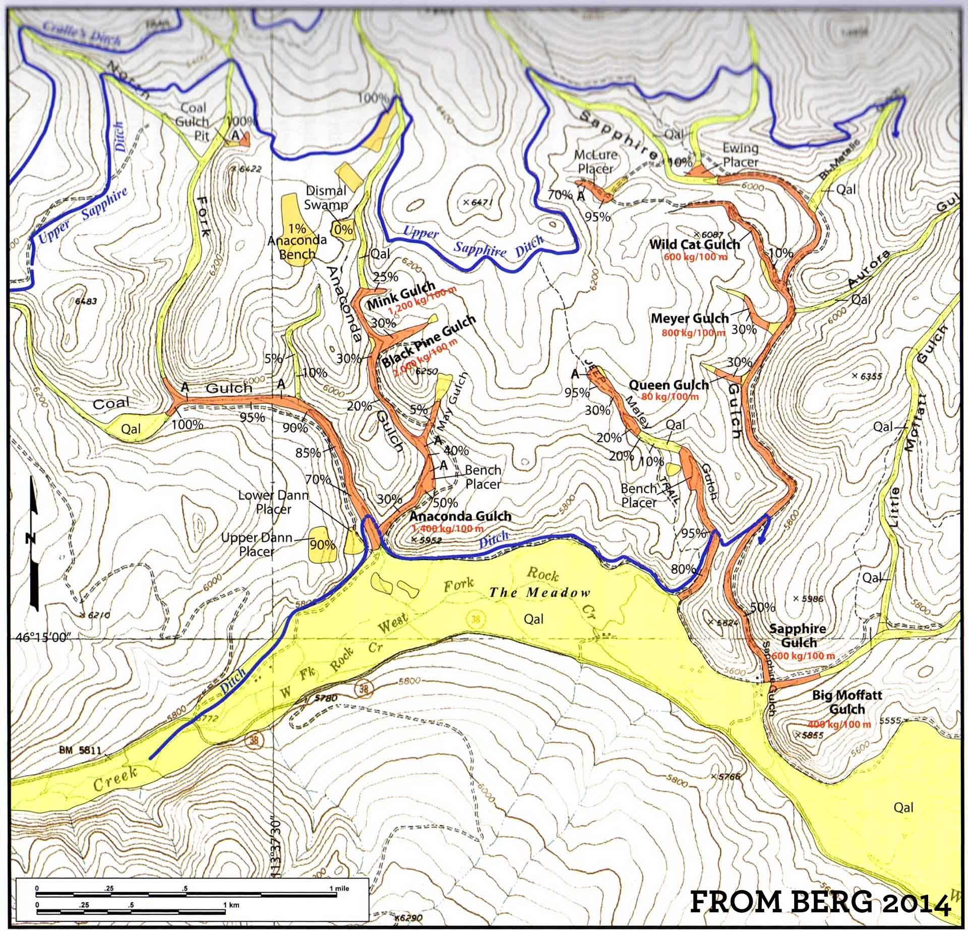 Rock Creek  Potentate Mining
